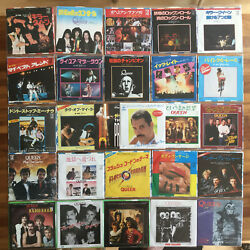 Once In A Lifetime Queen And Freddie Mercury Japan 7 Vinyl Single Collection 29