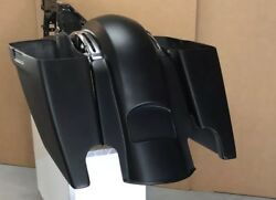 6stretch Bags And Rear Fender For Harley Davidson Touring Models 2014-2017 Flh