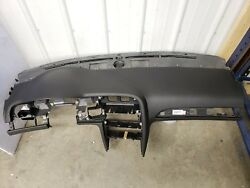 Audi A6 S6 C6 Dashboard Dash Board Assembly With Airbag Oem Black Color