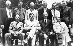 1939 Hall of Fame Induction: Babe Ruth Cy Young Eddie Collins and Connie Mack