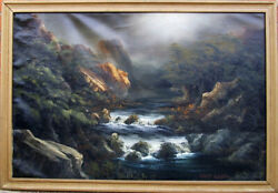 Robert Bloeser Brook Oil Painting