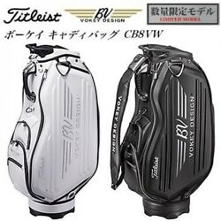 TITLEIST VOKEY DESIGN Limited Cart Bag CB8VW #White from Japan FS with Tracking