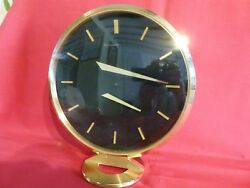 Special Price 1960and039s Jaeger Lecoultre Floating Hands 8 Day Mantle Or Table Clock