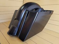 6 Extended Saddlebags No Cut Outs/rear Fender For All Touring Models 2014-up
