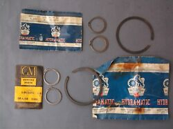 Lot Of Nos Gm Hydramatic 1956-1958 Olds Snap Rings 8616060 8616492 8618830