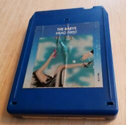 8-track Tape Cartridge The Babys Head First Run To Mexico California Love Right