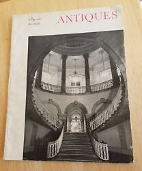 Antiques Magazine October 1964 Collector Hobby Hobbie Vintage Ads Antiques Old