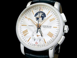 Free Shipping Pre-owned Twinfly Chronograph 4810 Limited Edition 1100
