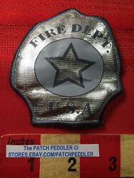 Shiny Pretend Play Cosplay Fire Fighter Patch Fire Dept Usa C63d