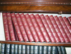 Dickenscharles And039the Complete Works Of Charles Dickensand039 19 Volumes 1903 Leather