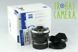 Carl Zeiss Distagon T* 18mm F4 ZM Lens for Leica M With Box #19165F2
