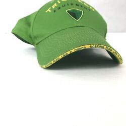 JOHN DEERE - Tri Green Equipment Yellow And Green Adjustable Hat Farm Cap $19.00