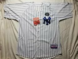 Authentic Majestic New York Yankees Mariano Rivera Jersey George Steinbrenner