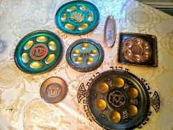 Judaica Bulk Lot Of Passover Plates And Dishes