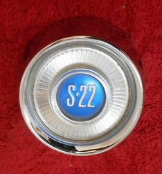 1961 1962 1963 Mercury Comet S-22 Nos Steering Wheel Horn And039s-22and039 Emblem Button
