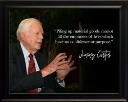 Jimmy Carter Piling Up Poster Print Picture Or Framed Wall Art