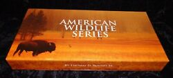 American Wildlife Copper Round Series 10 Coin Set 1 Oz. Coins Autographed