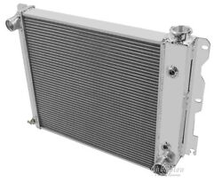 Dr Champion Cooling 3 Row Radiator For 1987-2006 Jeep Wrangler Cross Flow
