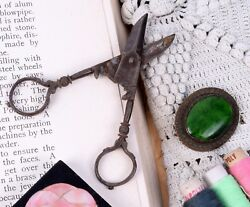 Diy Vintage Scissors Sewing Old Design Art And Craft Shear Collectible. G47-193 Us