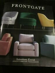 Frontgate Catalog February 2019 Interiors Event Outfitting America's Homes New
