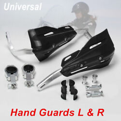 Set Of 7/8 To 1/8 Dirt Bikes Handguard Pp Plastic Hand Protector Cover Genuine