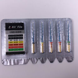 500 Kits Dental Endo Z-K3 Root Canal NiTi Hot Memory Files Thermal 25mm Assorted