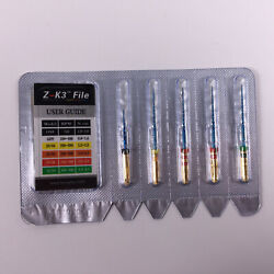 500 Kits Dental Endo Z-K3 Root Canal NiTi Hot Memory Files Thermal 28mm Assorted