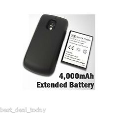 Mugen Power 4000mah Extended Life Battery Anddoor For Samsung Exhilarate I577 Atandt