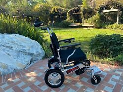 Ranger D09 New Attendant And Caregiver Operated Folding Motorized Wheelchair