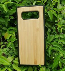Samsung Galaxy S10 Plus Phone Case Bamboo Or Cork Eco-friendly Materials