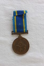 31 South Africa Police Medal With Ribbon 087725k S Sers E.w.p. Spies