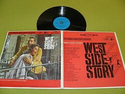 West Side Story Soundtrack Rare 1961 Zimbabwe Press Rhodesia Stereo Lp Nm