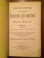 1869-1870 Illustrated Charleston, Sc City Directory, Business Register, Lots Ads