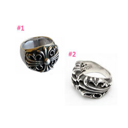 Authentic [chrome Hearts] Keeper / Kandt Ring Choose One