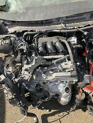 2014 2015 2016 Toyota Highlander Hybrid V6 3.5l Engine Motor Low Mileage