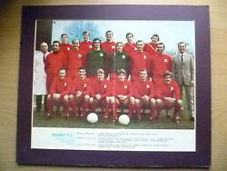 Team Photograph Frame Display- 1969-70 Orient Fc Division Three Champions