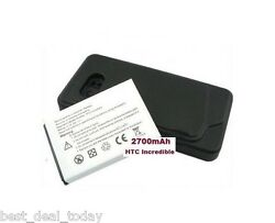 For Htc Droid Incredible 6300 Extended Battery 2700mah