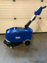 Clarke Vantage 14 Battery Micro Scrubber with Brush And Pad Driver. Excellent