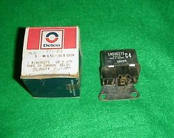 New Nos 1981 81 1982 82 Corvette Blower Motor Cut Out Relay Delco 15-8189 Gm