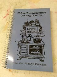 Vintage Spiral Cookbook Helmuths Homemade Country Goodies