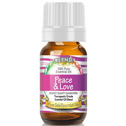 Peace and Love Blend Essential Oil (100% Pure, Natural, UNDILUTED) 10ml