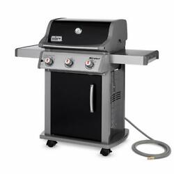 Natural Gas Grill Outdoor Barbecue Griddle Cooking Countertop Bbq 3 Burner