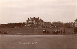 Common Beach Hotel Littlehampton Motorcycle Sidecar Rp Old Pc Used 1927