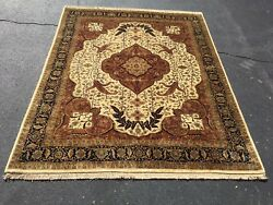 New 8x10 Handknotted Serapi Style Area Rug At The Raleigh Furniture Gallery