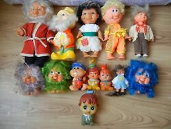 Rare Ussr Vintage Soviet Russia Doll Rubber And Plastic Toy Set 13