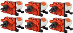 Seaflo 12v 3.0 Gpm Water Pump Rv Boat Variable Flow Bypass Valve 6 Pack
