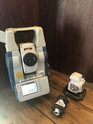 """Sokkia SRX3 3"""" Robotic Total Station w RC-PR5A and Accessories"""