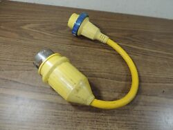 Used Boat Sailboat Shore Power Adapter Pigtail Charles Marine Products