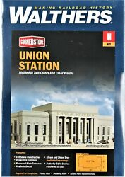 N Scale Walthers Cornerstone 933-3257 Union Station Building Kit