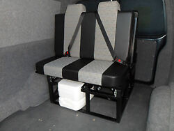 Standard 2 Seater Tested Rock And Roll Left Hand Drive Campervan Bed Seat